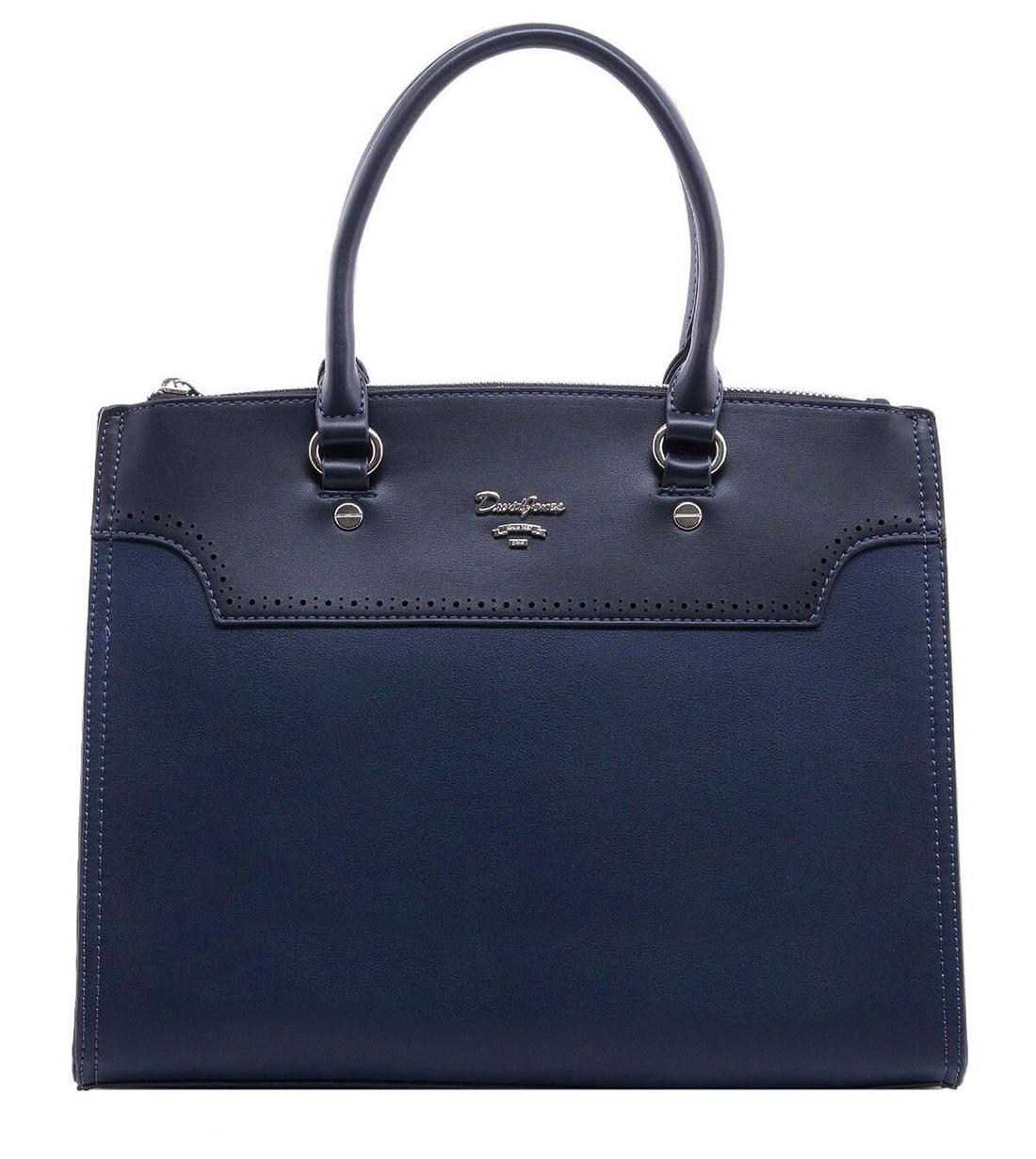 Женска сумка David Jones 28 x 32 x 10 см Синий (djcm5030/2)