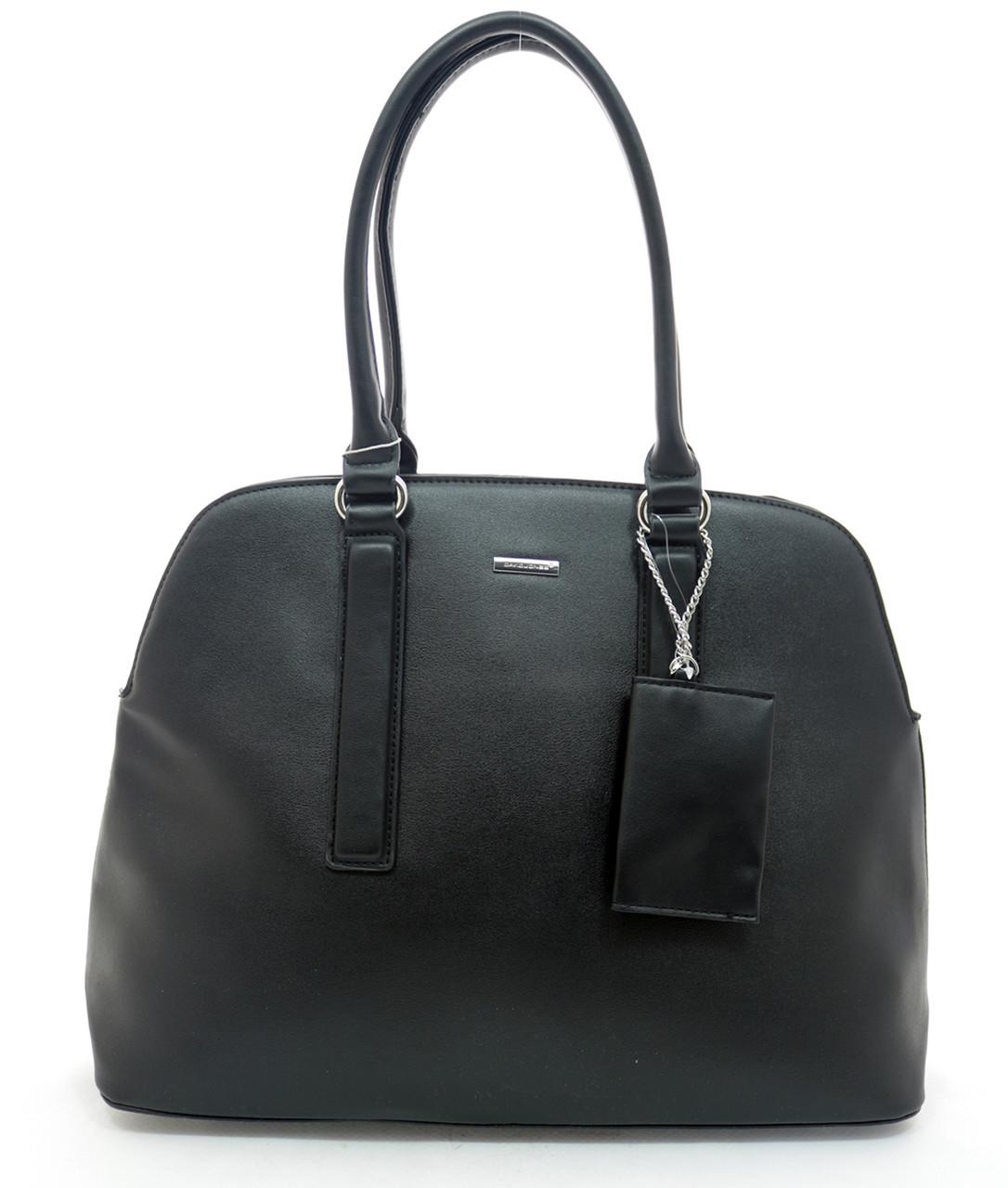 Женска сумка David Jones 27 x 43 x 13 см Черный (dj6104-1/1)