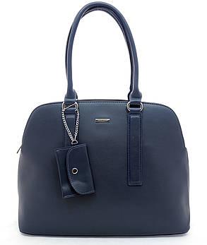 Женска сумка David Jones 27 x 43 x 13 см Синий (dj6104-1/2), фото 2