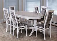 Комплект стол Эдельвейс + стулья Эдельвейс