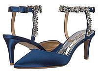 Туфли на каблуке Badgley Mischka Esmeralda Navy Satin