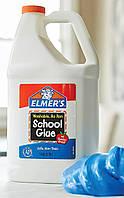 Клей Элмерс белый 1 галлон (3,78л, 4кг) Самый лучший для слаймов! Elmer's clear glue 1g Оригинал из США