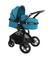 Детская коляска универсальная 2 в 1 Lorelli Lumina DARK BLUE | Производитель: Lorelli (Болгария)