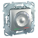 Терморегулятор для тёплого пола, алюминий. Unica Top MGU3.503.30, фото 2