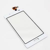 Тачскрин сенсор LG P700, P705 Optimus L7 белый
