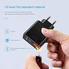 Универсальное зарядное устройство Elough CL01 Quick Charge 3.0 Быстрая зарядка 18 ВТ Black, фото 3