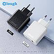 Универсальное зарядное устройство Elough CL01 Quick Charge 3.0 Быстрая зарядка 18 ВТ Black, фото 2