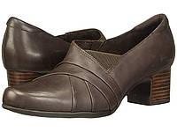 Туфли на каблуке (Оригинал) Clarks Un Damson Adele Brown Leather