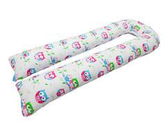 Подушка для беременных KIDIGO U образная Сова (с наволочкой)