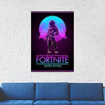 """Постер """"Dark Voyager"""". Fortnite, Фортнайт, Королевская Битва. Размер 60x42см (A2). Глянцевая бумага, фото 2"""