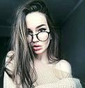 Имиджевые очки, очки с прозрачной линзой круглые, фото 7