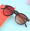 Очки солнцезащитные унисекс круглые, фото 4