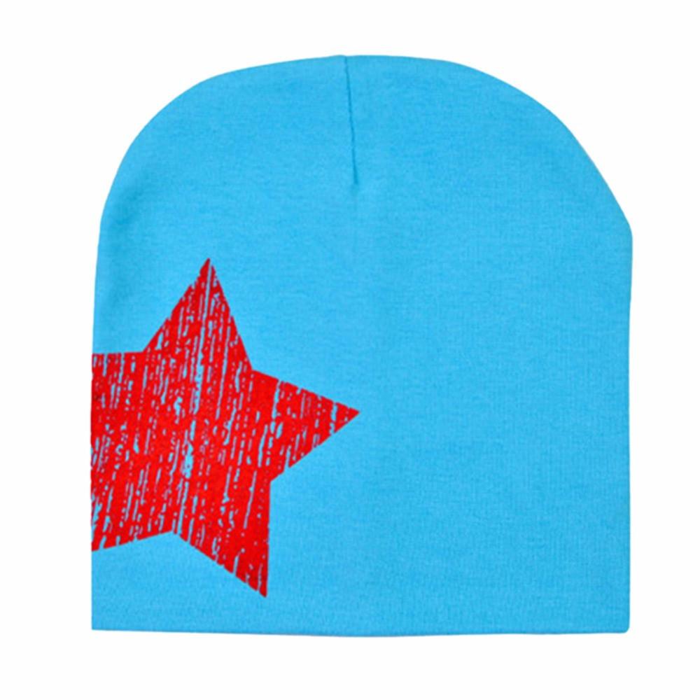 Шапочки  Bape детские для мальчика и девочки  Голубая звезда