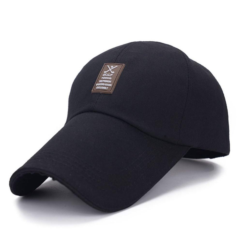 Кепка бейсболка Golf Черная, Унисекс