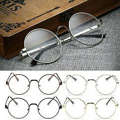 Круглые ретро имиджевые очки