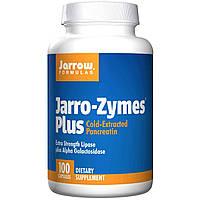 Экзимы панкреатин (pancreatin) Jarrow Formulas 100 капсул