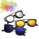 Солнцезащитные очки  фигурные двойная переносица, фото 3