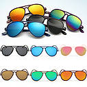 Солнцезащитные очки детские авиаторы, капли, фото 4