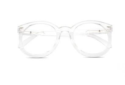 Имиджевые очки круглые  в широкой оправе №2