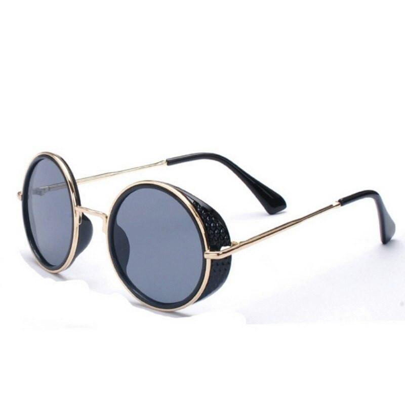 Солнцезащитные очки большие круглые тишейды