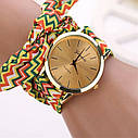 Женские наручные часы Geneva 2, Коричневый, фото 4