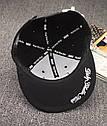 Кепка снепбек DGK с прямым козырьком, Унисекс, фото 3