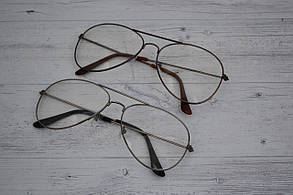Имиджевые очки авиаторы капли унисекс УЦЕНКА!!!