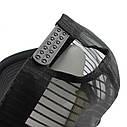 Кепка тракер Crazy с сеточкой Черная, Унисекс, фото 4