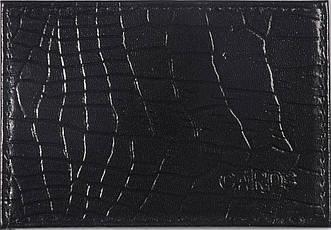 Обложка для банковской карточки цвет чёрный