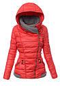 Женский зимняя куртка с серыми вставками XL-XXL, фото 3
