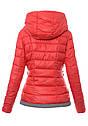 Женский зимняя куртка с серыми вставками XL-XXL, фото 4