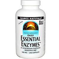 Пищеварительные ферменты (энзимы) Source Naturals 240 капсул
