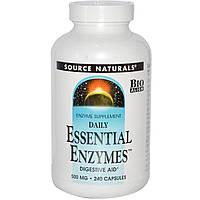 Ферменты для пищеварения (энзимы) Source Naturals 240 капсул