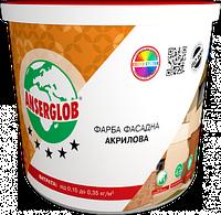 Краска акриловая ANSERGLOB фасадная (7,5 кг)
