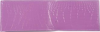Кожаная визитница цвет фиолетовый