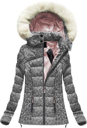 Женская куртка зимняя цветная