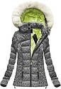 Женская куртка зимняя цветная, фото 3