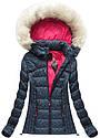 Женская куртка зимняя цветная, фото 4