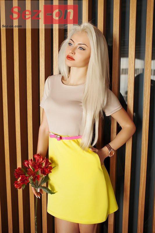 Сукня жіноча коротке ― Жовтий