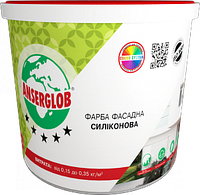 Краска силиконовая ANSERGLOB фасадная (7,5кг)