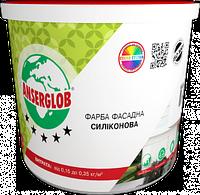 Краска силиконовая ANSERGLOB фасадная (15кг)