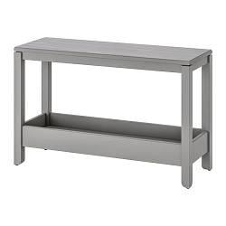 ИКЕА (IKEA) HAVSTA, 604.225.49, Консольный стол, серый, 100x35x63 см