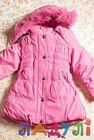 Пальто на девочку 1,5-2,5 лет Kiko, рост 98 см