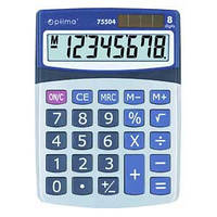 Калькулятор настольный Optima О75504, 8-ми разрядный