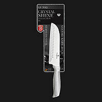 Нож Santoku из нержавеющей стали Berlinger Haus Crystal Shine Collection LP 7012 (20 см)