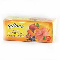 Infiore фруктовий з журавлиною 20 шт