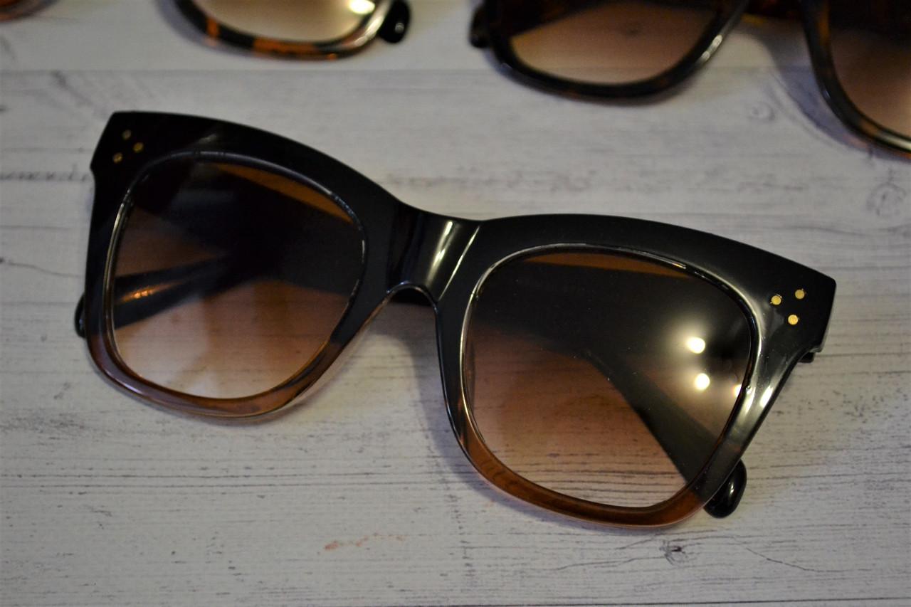 "Солнцезащитные очки в стиле Селин ""Сeline"" 2018  №1"