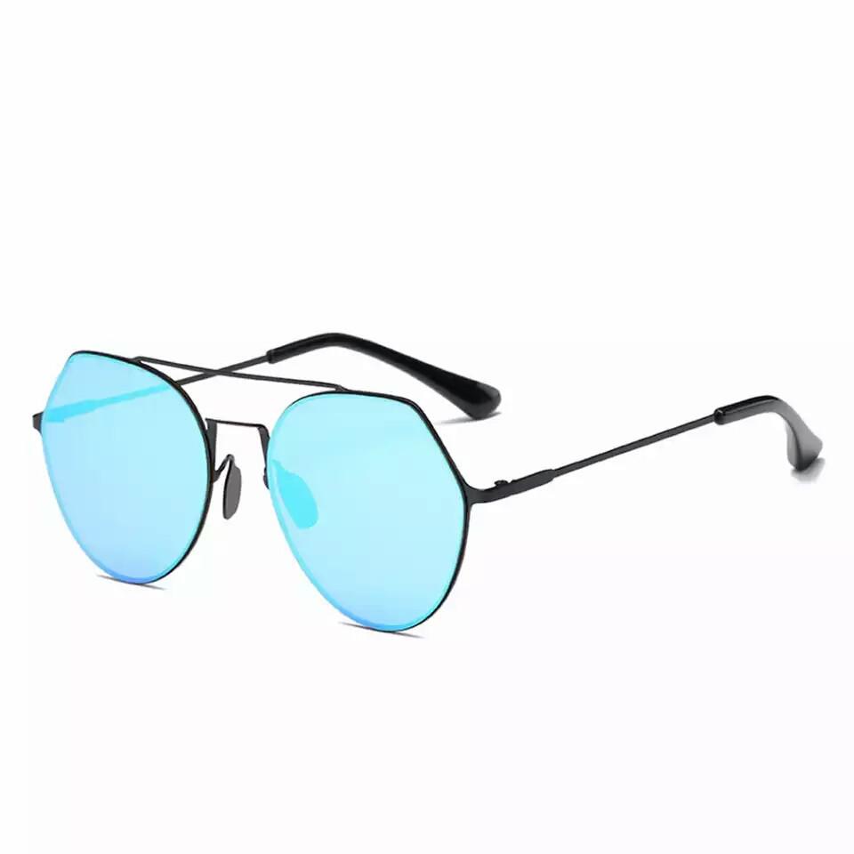 Солнцезащитные очки авиаторы капли унисекс в тонкой оправе