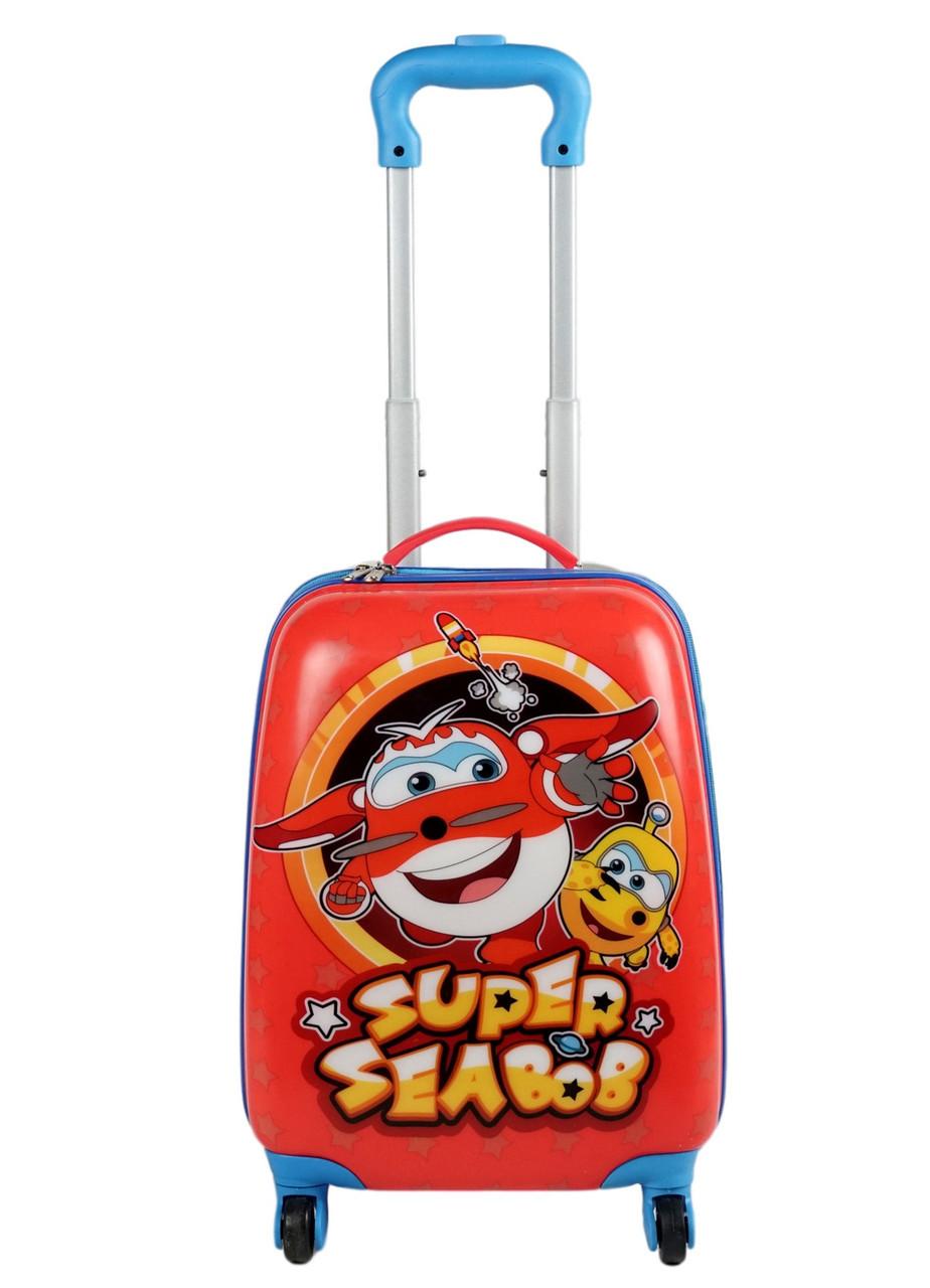 Детский дорожный чемодан 28л с рисунком