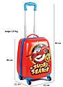 Детский дорожный чемодан 28л с рисунком, фото 6